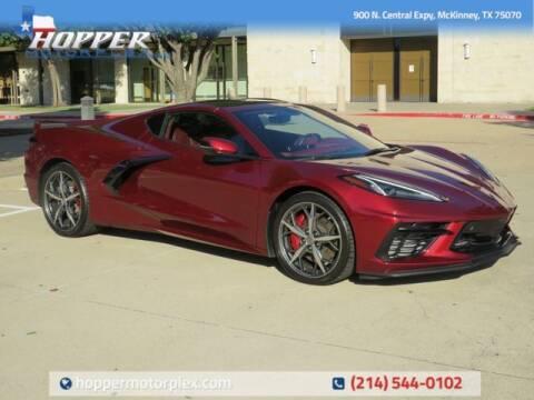 2020 Chevrolet Corvette for sale at HOPPER MOTORPLEX in Mckinney TX