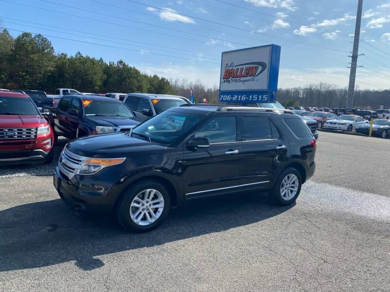 2014 Ford Explorer for sale at Billy Ballew Motorsports in Dawsonville GA