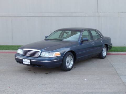 1998 Ford Crown Victoria for sale at CROWN AUTOPLEX in Arlington TX