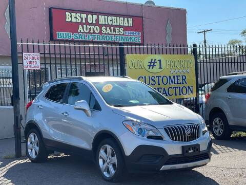 2016 Buick Encore for sale at Best of Michigan Auto Sales in Detroit MI