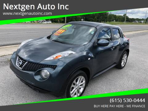 2013 Nissan JUKE for sale at Nextgen Auto Inc in Smithville TN