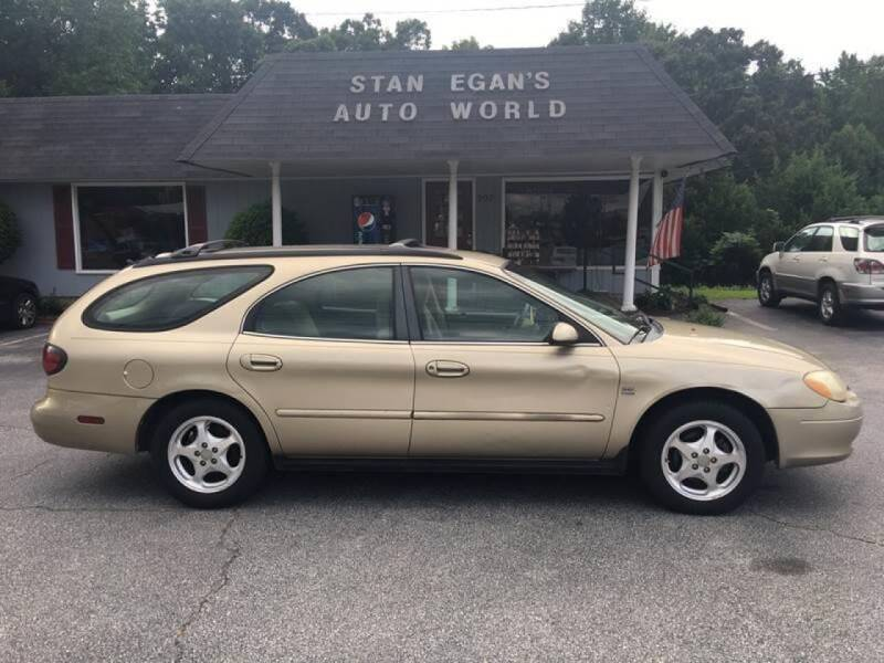 2000 Ford Taurus for sale at STAN EGAN'S AUTO WORLD, INC. in Greer SC