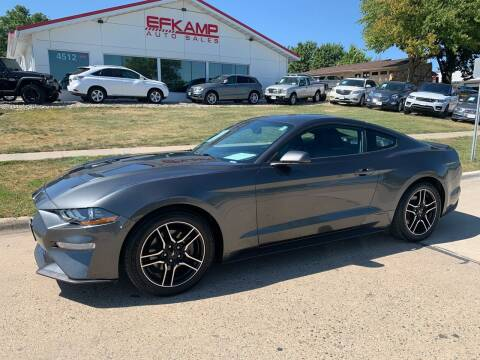 2018 Ford Mustang for sale at Efkamp Auto Sales LLC in Des Moines IA