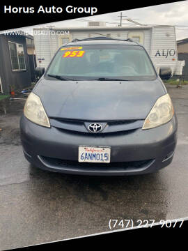 2007 Toyota Sienna for sale at Alliance Auto Group Inc in Fullerton CA