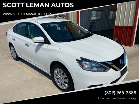 2017 Nissan Sentra for sale at SCOTT LEMAN AUTOS in Goodfield IL