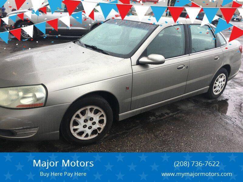 2003 Saturn L-Series for sale at Major Motors in Twin Falls ID