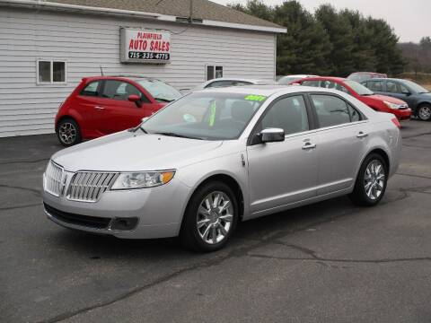2011 Lincoln MKZ for sale at Plainfield Auto Sales, LLC in Plainfield WI