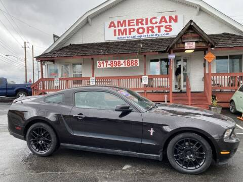 2012 Ford Mustang for sale at American Imports INC in Indianapolis IN
