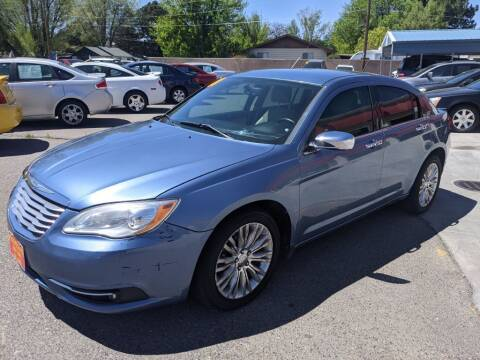 2011 Chrysler 200 for sale at Progressive Auto Sales in Twin Falls ID