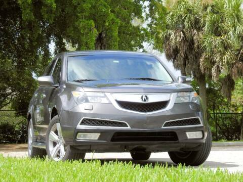 2010 Acura MDX for sale at M.D.V. INTERNATIONAL AUTO CORP in Fort Lauderdale FL