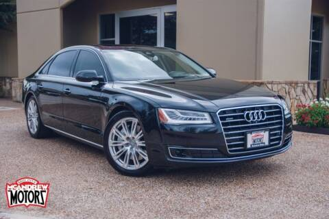 2015 Audi A8 L for sale at Mcandrew Motors in Arlington TX