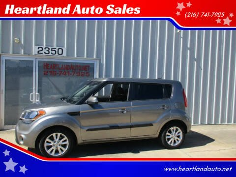 2012 Kia Soul for sale at Heartland Auto Sales in Medina OH