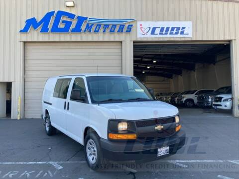 2013 Chevrolet Express Cargo for sale at MGI Motors in Sacramento CA