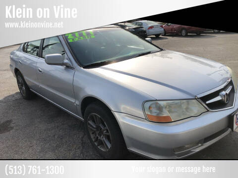 2002 Acura TL for sale at Klein on Vine in Cincinnati OH