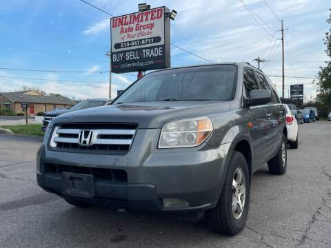 2007 Honda Pilot for sale at Unlimited Auto Group in West Chester OH