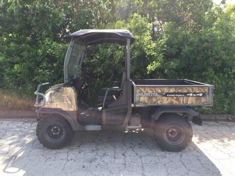 2012 Kubota RT 900 DIESEL for sale at JENTSCH MOTORS in Hearne TX