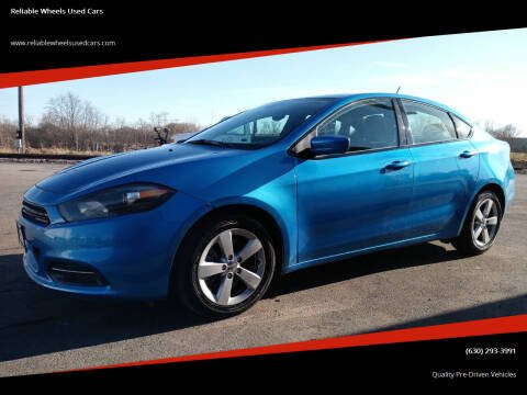 2016 Dodge Dart for sale at Reliable Wheels Used Cars in West Chicago IL