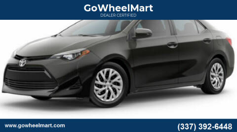 2019 Toyota Corolla for sale at GoWheelMart in Leesville LA