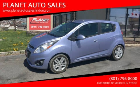 2015 Chevrolet Spark for sale at PLANET AUTO SALES in Lindon UT