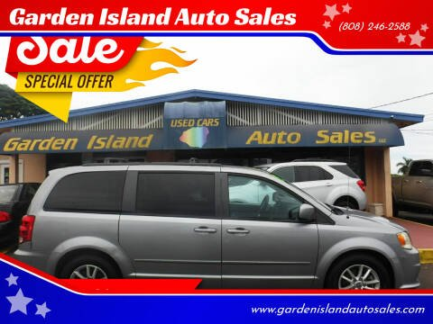 2013 Dodge Grand Caravan for sale at Garden Island Auto Sales in Lihue HI