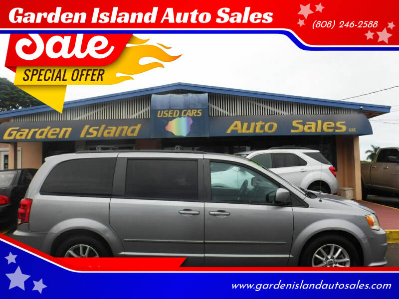 2013 Dodge Grand Caravan for sale at Garden Island Auto Sales in Lihue HI