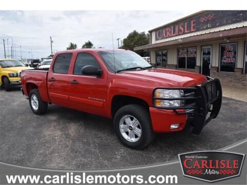 2008 Chevrolet Silverado 1500 for sale at Carlisle Motors in Lubbock TX