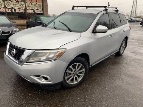 2015 Nissan Pathfinder for sale at TRANS P in East Windsor CT
