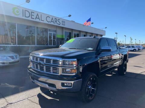 2015 Chevrolet Silverado 1500 for sale at Ideal Cars East Mesa in Mesa AZ