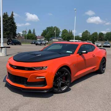2021 Chevrolet Camaro for sale at Coast to Coast Imports in Fishers IN