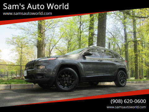 2015 Jeep Cherokee for sale at Sam's Auto World in Roselle NJ