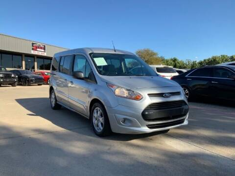 2016 Ford Transit Connect Wagon for sale at KIAN MOTORS INC in Plano TX