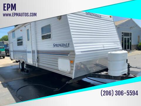 2005 Keystone Springdale for sale at EPM in Auburn WA