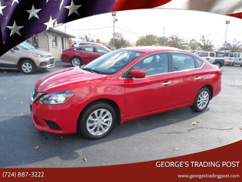 2019 Nissan Sentra for sale at GEORGE'S TRADING POST in Scottdale PA