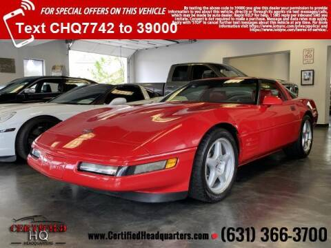 1992 Chevrolet Corvette for sale at CERTIFIED HEADQUARTERS in St James NY