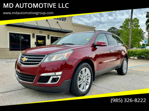 2015 Chevrolet Traverse for sale at MD AUTOMOTIVE LLC in Slidell LA