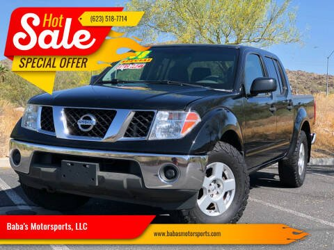 2008 Nissan Frontier for sale at Baba's Motorsports, LLC in Phoenix AZ