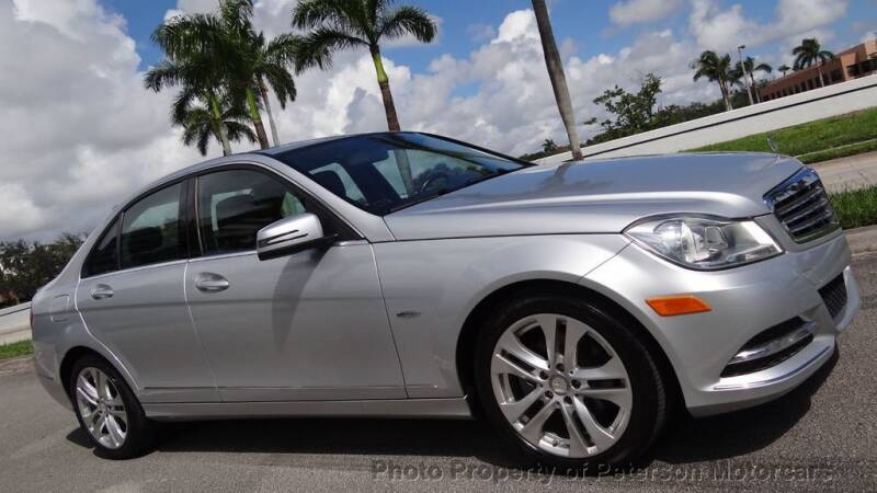 2012 Mercedes-Benz C-Class for sale at MOTORCARS in West Palm Beach FL