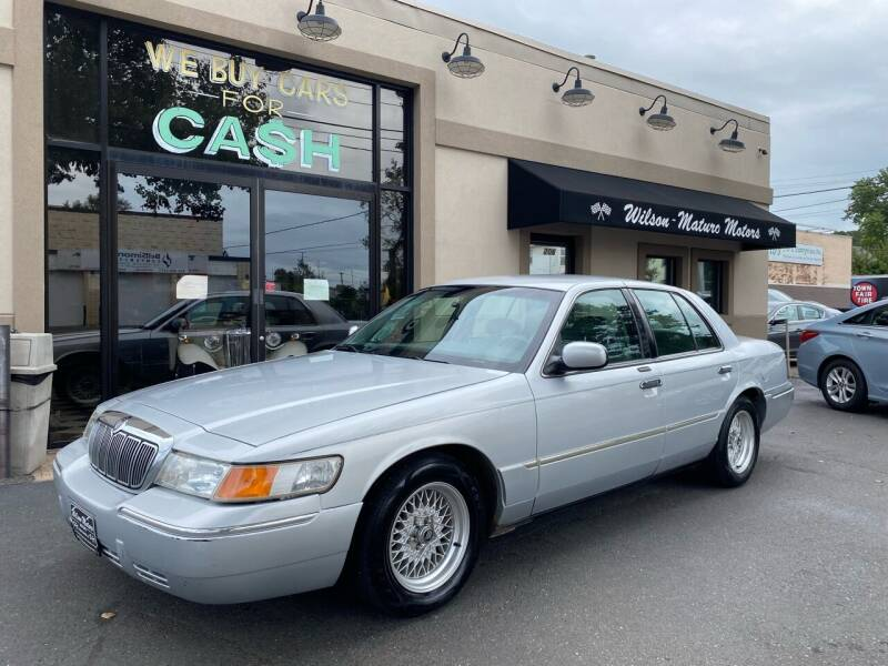 2001 Mercury Grand Marquis for sale at Wilson-Maturo Motors in New Haven CT