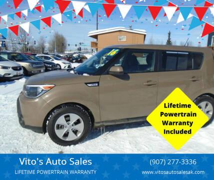 2016 Kia Soul for sale at Vito's Auto Sales in Anchorage AK