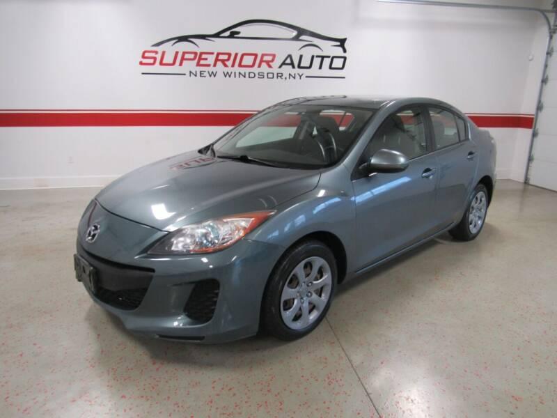 2013 Mazda MAZDA3 for sale at Superior Auto Sales in New Windsor NY