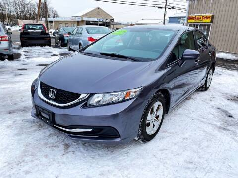 2015 Honda Civic for sale at Dijie Auto Sale and Service Co. in Johnston RI