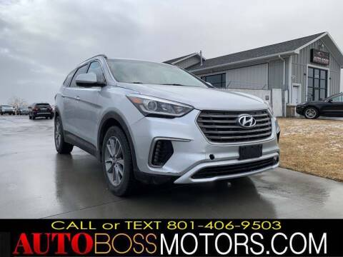 2017 Hyundai Santa Fe for sale at Auto Boss in Woodscross UT