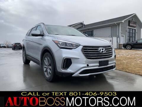 2017 Hyundai Santa Fe for sale at Auto Boss in Woodscross UT