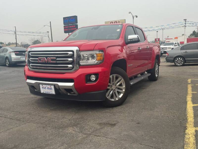 2016 GMC Canyon for sale at Five Stars Auto Sales in Denver CO