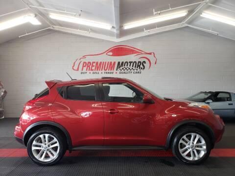 2013 Nissan JUKE for sale at Premium Motors in Villa Park IL