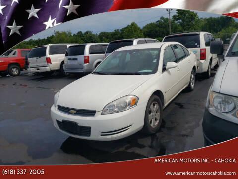 2008 Chevrolet Impala for sale at American Motors Inc. - Cahokia in Cahokia IL