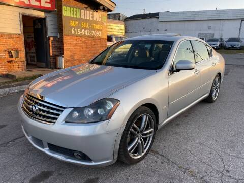 2006 Infiniti M35 for sale at Green Ride Inc in Nashville TN