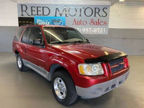 2001 Ford Explorer Sport for sale at REED MOTORS LLC in Phoenix AZ