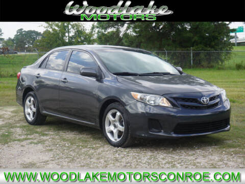 2012 Toyota Corolla for sale at WOODLAKE MOTORS in Conroe TX