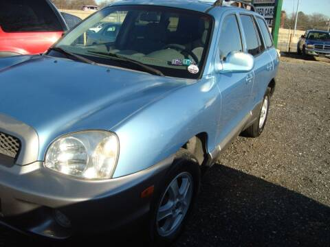 2003 Hyundai Santa Fe for sale at Branch Avenue Auto Auction in Clinton MD